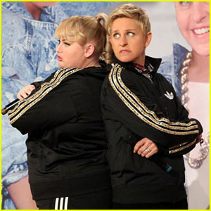 Rebel Wilson & Ellen DeGeneres, AKA Rebellen, Rap 'Watching Cats on the Internet' (Video)