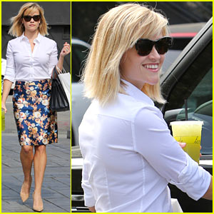 Reese Witherspoon Embraces Warm L.A. Weather After Week in NYC!