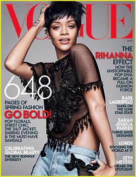 Rihanna to 'Vogue': Fashion is About Commitment, I Worry About the Pain Later