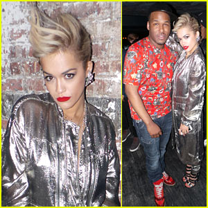 Rita Ora Celebrates Stylist Jason Rembert's Birthday (Exclusive Pics!)