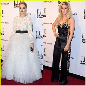 Rita Ora & Ellie Goulding: Presenters at Elle Style Awards 2014!