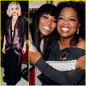 Rita Ora & Oprah Winfrey: Weinstein's BAFTAs 2014 After Party!
