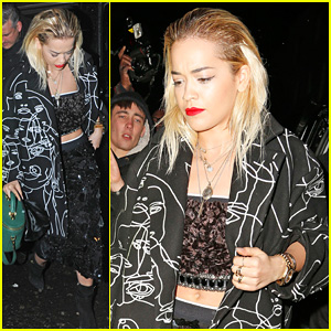 Rita Ora: Prince Concert at Ronnie Scott's Jazz Club!