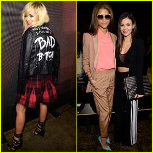 Rita Ora: When I Wear DKNY, I Feel Like a Bad B-tch!