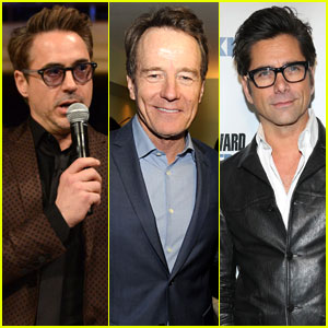 Robert Downey Jr. & Bryan Cranston: Howard Stern's Birthday Bash Attendees!