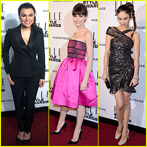Samantha Barks & Felicity Jones: Elle Style Awards 2014!