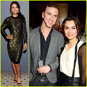 Samantha Barks: London Fashion Week with Boyfriend Richard Fleeshman!