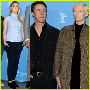 Saoirse Ronan & Tilda Swinton: 'Grand Budapest Hotel' Berlinale Photo Call