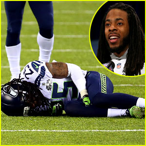 Seattle Seahawks Cornerback Richard Sherman Has RIght Ankle Injury, Return to Game 'Doubtful'