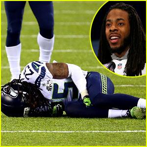 Seattle Seahawks Cornerback Richard Sherman Has RIght Ankle Injury, Return to Game 'Doubtful'