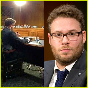 Seth Rogen Testifies for Alzheimer's, Senators Don't Show Up