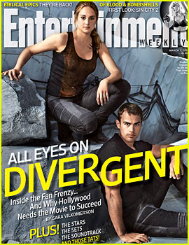 Shailene Woodley & Theo James Cover Entertainment Weekly's 'Divergent' Issue!