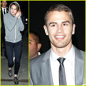 Shailene Woodley & Theo James: 'Divergent' Teaser on 'Kimmel'!