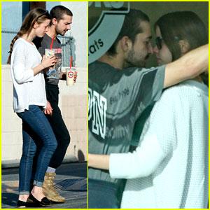 Shia LaBeouf & Girlfriend Mia Goth: PDA Pair While Shopping!