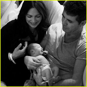 Simon Cowell Shares Cute Pics of Newborn Baby Eric!