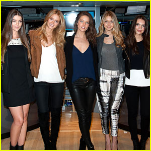 'Sports Illustrated' Swimsuit Models Put Their Clothes On to Ring Stock Exchange Bell!