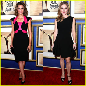 Stana Katic & Sasha Alexander: Writers Guild Awards 2014!