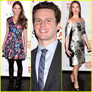Jonathan Groff & Sutton Foster Celebrate 'Bridges of Madison County' Broadway Opening