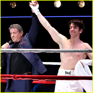Sylvester Stallone Helps Launch 'Rocky' on Broadway!
