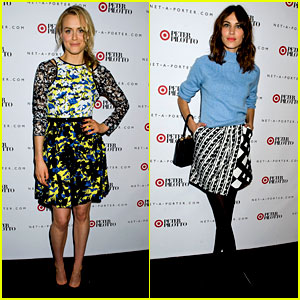 Taylor Schilling & Alexa Chung: Peter Pilotto for Target Event!
