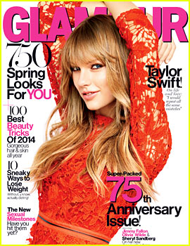 Taylor Swift to 'Glamour': Taking My Clothes Off Isn't 'Risky'