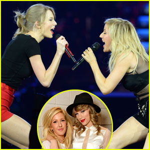 Taylor Swift Ellie Goulding Burn Red Tour London 2014