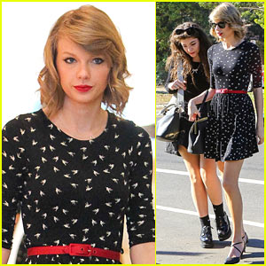 Taylor Swift & Lorde Go Shopping After Spending Weekend Together!