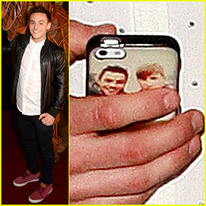Tom Daley Steps Out with His Dustin Lance Black Phone Case