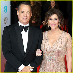 Tom Hanks & Rita Wilson - BAFTAs 2014 Red Carpet