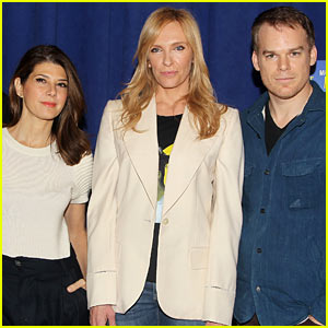 Toni Collette & Michael C. Hall: 'Realistic Joneses' Press Preview!