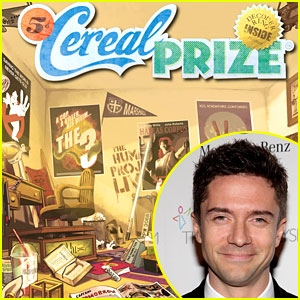 Topher Grace Launches CerealPrize.com for Film Buffs & More!