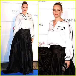 Uma Thurman: Difference Maker at Cinema For Peace Gala!