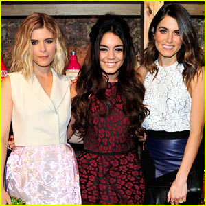 Vanessa Hudgens & Nikki Reed Celebrate Valentines Day Early!