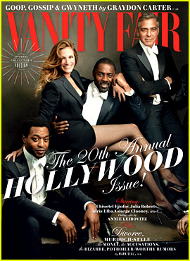 'Vanity Fair' Releases Star-Studded Hollywood Issue Cover!