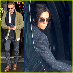 Victoria Beckham Stayed in London While David Attended Super Bowl 2014