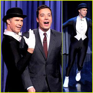 Will Ferrell Figure Skates to the 'Downton Abbey' Theme! (Video)