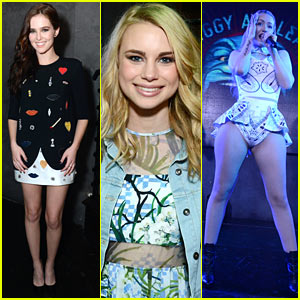 Zoey Deutch & Iggy Azalea Party the Night Away for 'Vampire Academy'