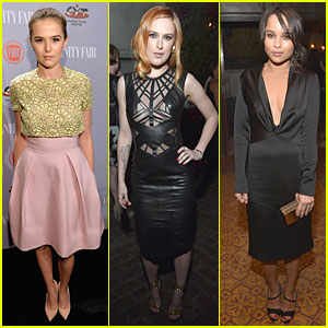 Zoey Deutch & Rumer Willis: Vanity Fair Young Hollywood Party!