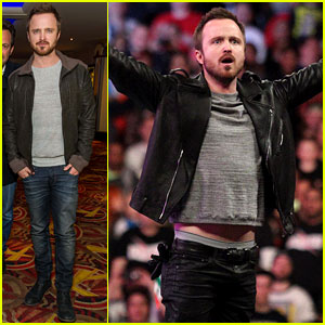 Aaron Paul Has a 'Need for Speed' on WWE's Monday Night Raw
