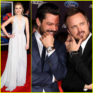 Aaron Paul & Imogen Poots: 'Need for Speed' Premiere!