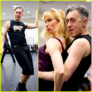 Alan Cumming Gets Frisky in 'Cabaret' Rehearsal Photos!