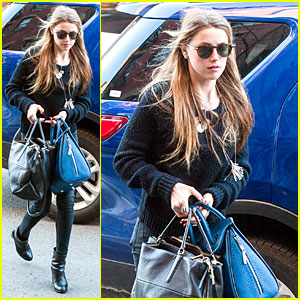 Amber Heard Is Feeling Blue Without Johnny Depp in NYC!