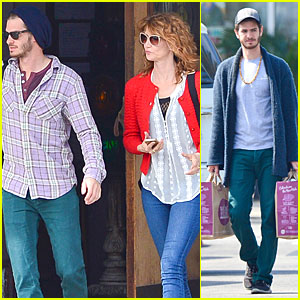 Andrew Garfield Builds Mother-Son Chemistry with '99 Homes' Co-star Laura Dern!