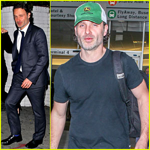 Andrew Lincoln Steps Out After Violent 'Walking Dead' Finale