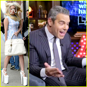Watch Andy Cohen Watch Himself in Lady Gaga's New Video!