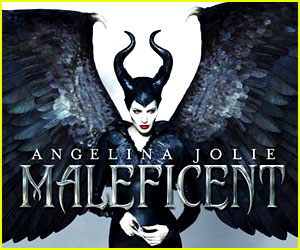 Angelina Jolie Spreads Her Wings for New 'Maleficent' Poster