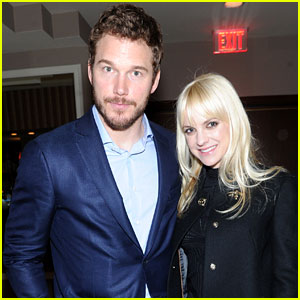 Anna Faris & Chris Pratt: Pre-Oscars Party Couple!