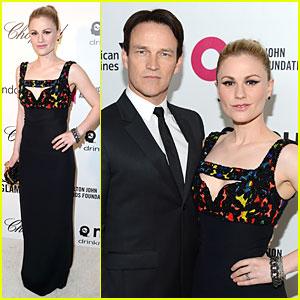 Anna Paquin & Stephen Moyer - Elton John Oscars Party 2014