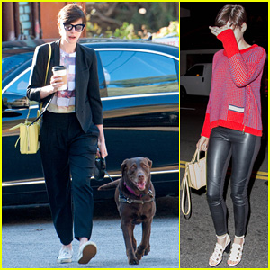 Anne Hathaway Keeps Busy in Sunny Los Angeles!