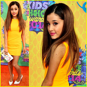 Ariana Grande WINS Big at Kids' Choice Awards 2014!